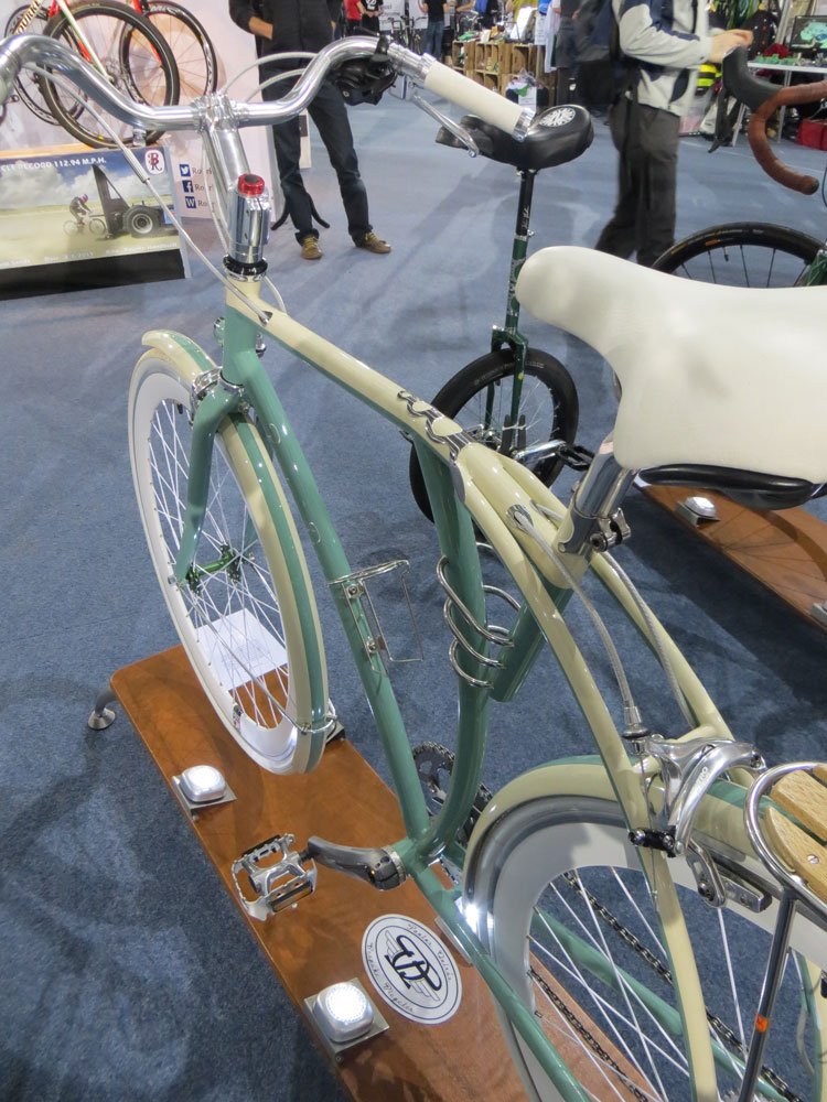 Jose Quiros's daughter liked the idea of a bike styled after a VW camper